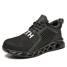 Ankle-Boots Safety-Shoes Sneakers Work Steel Outdoor Breathable Indestructible Men's