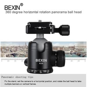 Image 5 - BEXIN Camera Accessories professional 360 degrees Rotation panoramic dslr camera tripod Monopod adpter mount ball head ballhead