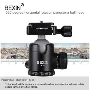 Image 5 - Bexin Camera Accessoires Professionele 360 Graden Rotatie Panoramisch Dslr Camera Statief Monopod Adpter Mount Ball Head Balhoofd