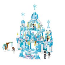 Girls Friends Windsor Castal Winter Building Blocks Princess Castle Toys Girl B724 disney education windsor castle princess friend girl building blocks toys give your childrens the best christmas gifts