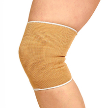 Outdoor hiking knee pads leg warmer sports protective gear riding fitness thin section knit elastic