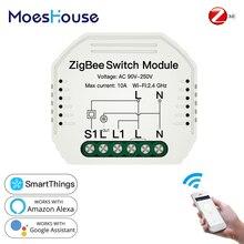 Switch-Module Smart-Light Tuya Alexa Remote-Control Zigbee-3.0 Google Home with APP Setup-Work
