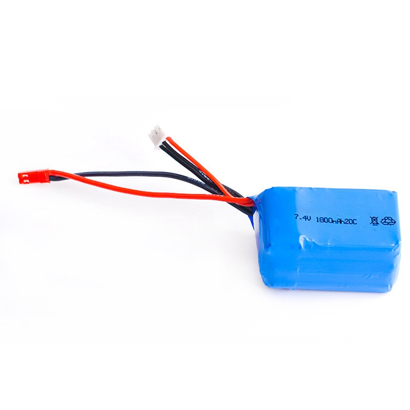 7,4 V 1800Mah 2S 20C Lipo Батарея Max 40C для Wltoys A959-B A969-B A979-B K929-B RC автомобиль Запчасти