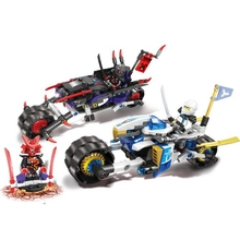 06074 Phantom Ninjagoes Series Giants Motorcycle Pursuit Battle Sets Insert Blocks Childrens Educational Toys Gifts 308pcs
