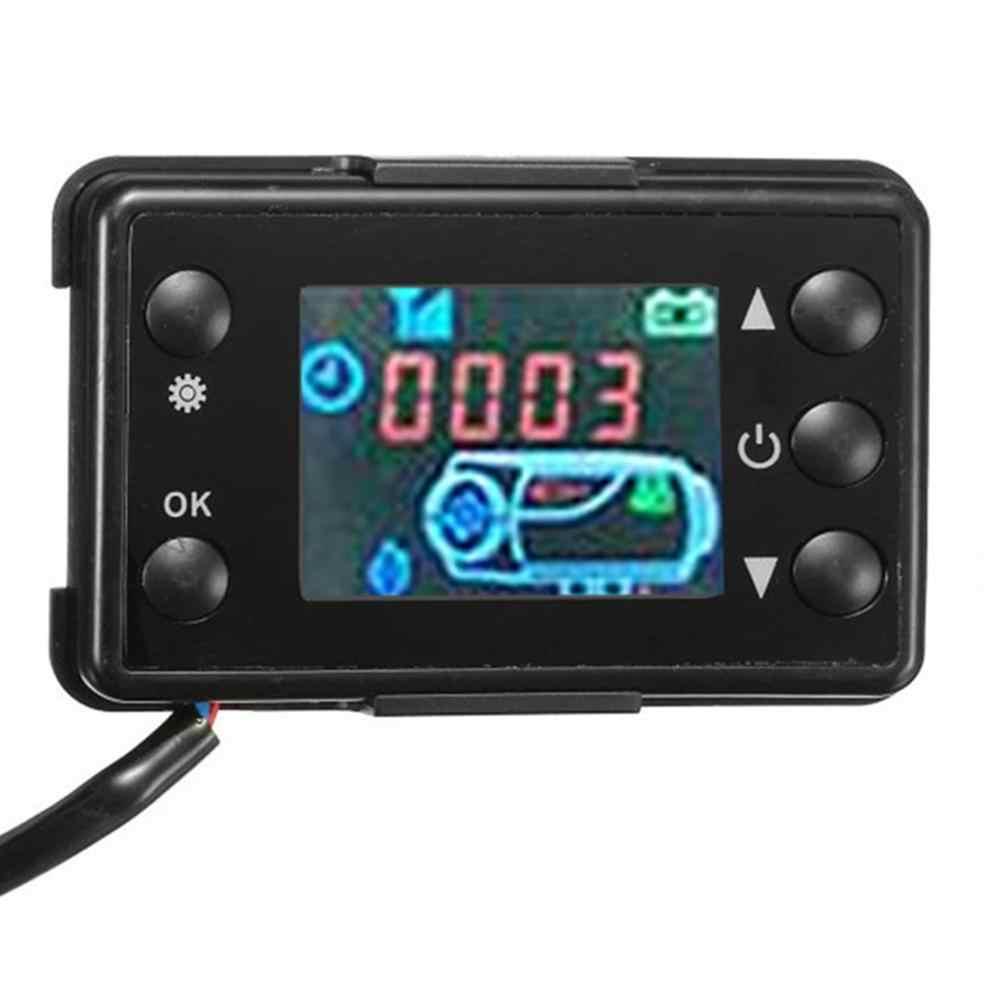 12 V/24 V LCD Monitor Schalter + Fernbedienung Zubehör Für Auto Track Diesel Luft Heizung Parkplatz Heizung für Auto Track Luft Diesel