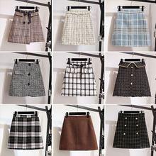 Женские юбки асимметричные трапециевидные новинка 2020 маленькие