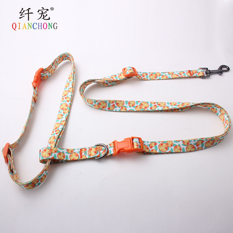 Guangzhou Fiber Pet Custom-made Morning Run Pet Traction Rope Waist Dog Traction Belt Walk Sports Dog Pendant