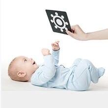 Детские игрушки Монтессори черно белые флеш карты высокая контрастность