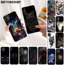Telefon fall Eule Weiche Silikon TPU Telefon Abdeckung für iPhone 11 pro XS MAX 8 7 6 6S Plus X 5 5S SE XR fall(China)