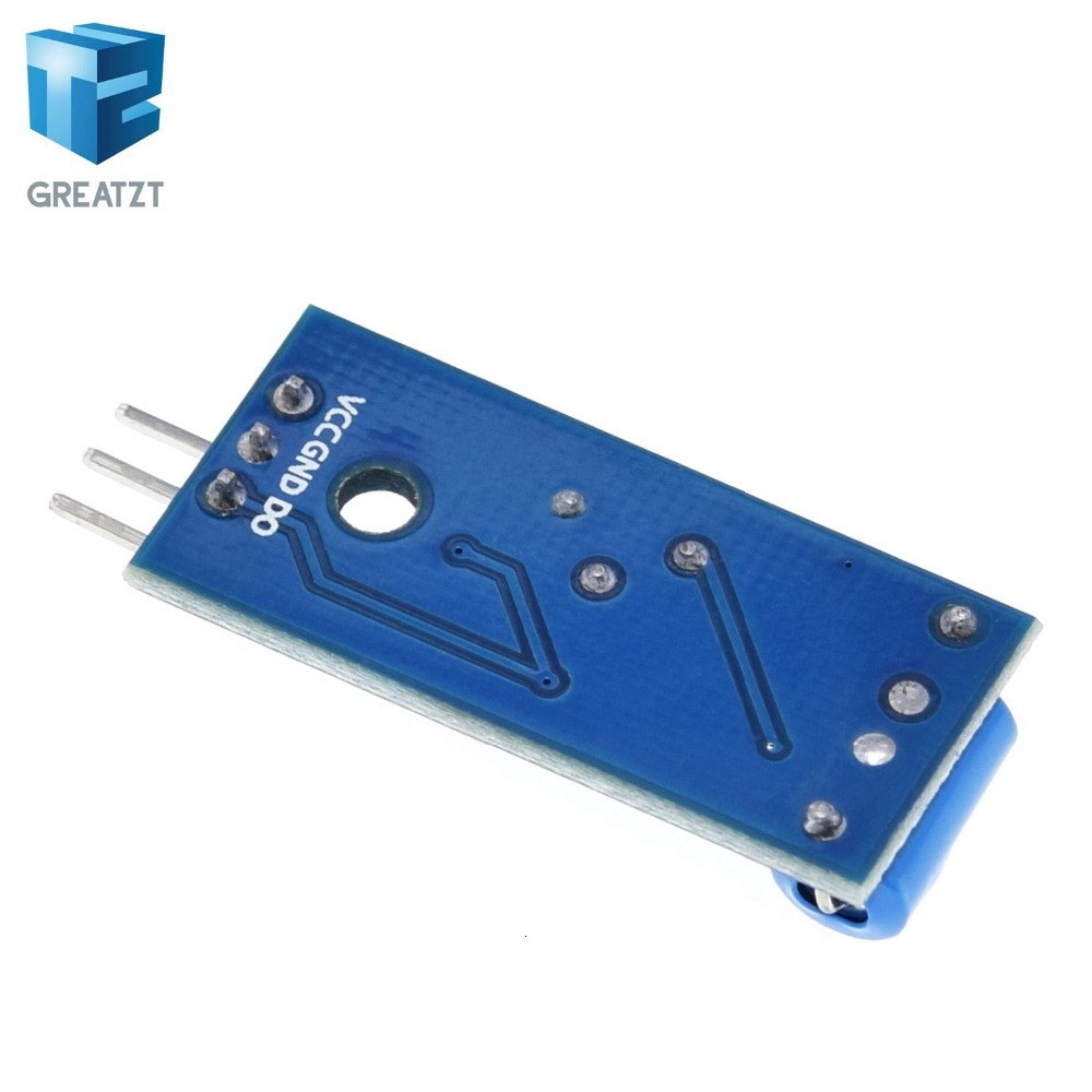 Vibrationsschalter Alarmsensor-Modul Bewegungssensor-Modul SW-420 Ic Neu qe
