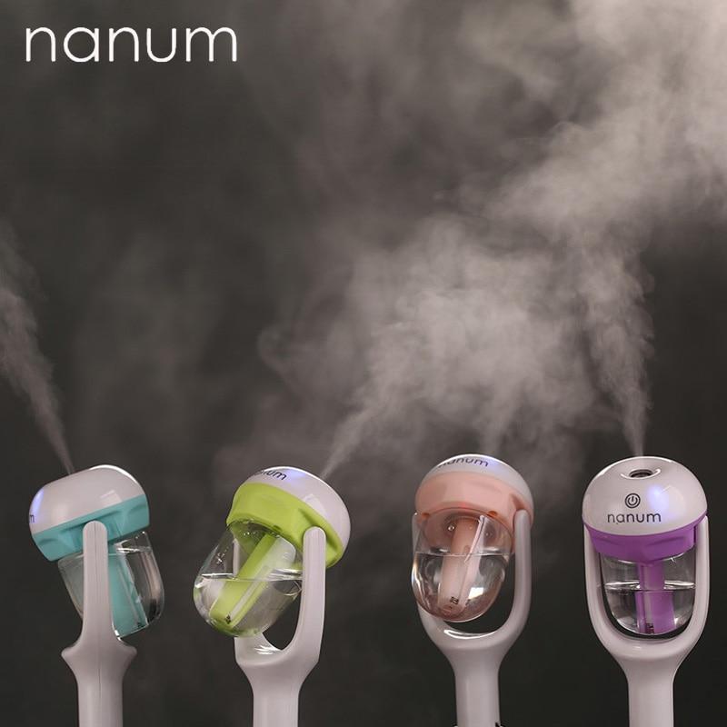 Автомобильный освежитель воздуха nanum 12 В, Автомобильный увлажнитель воздуха, очиститель воздуха, аромараспылитель, распылитель эфирных масел, ароматерапия, распылитель тумана