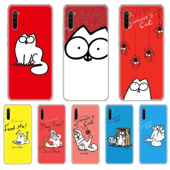 lovely Simons Cat pretty cell cover Transparent Phone Case cover For xiaomi Redmi 3S 4A 5A 6A 5 Plus 4X 7 8 8a CC9 K20 Pro K30 image