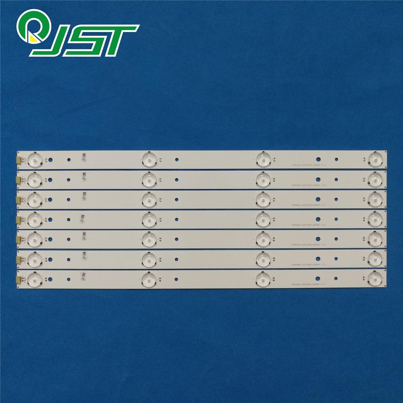 Светодиодные ленты для SHA RP 43 TV LC 43N4000U LC 43N6100U LC 43N610CU HD426DF B51 SVH420AA7 4LED REV00 REV02, новинка 100%, 7 шт./комплект