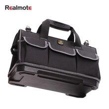 حقيبة أدوات ذات سعة كبيرة منظم للأجهزة حزام كروس للرجال حقائب سفر طقم أدوات مفكات كهربائي نجار حقيبة ظهر