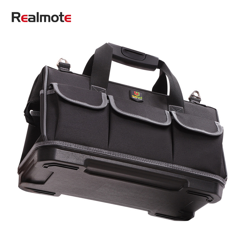 Large Capacity Tool Bag Hardware Organizer Crossbody Belt Men Travel Bags Spanner Toolkit Electrician Carpenter Backpack Handbag