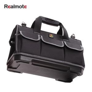Image 1 - Organizador de ferramenta de grande capacidade, crossbody, cinto, homens, bolsas de viagem, chave inglesa, kit de ferramentas, eletricista, carpinteiro, mochila, bolsa de mão