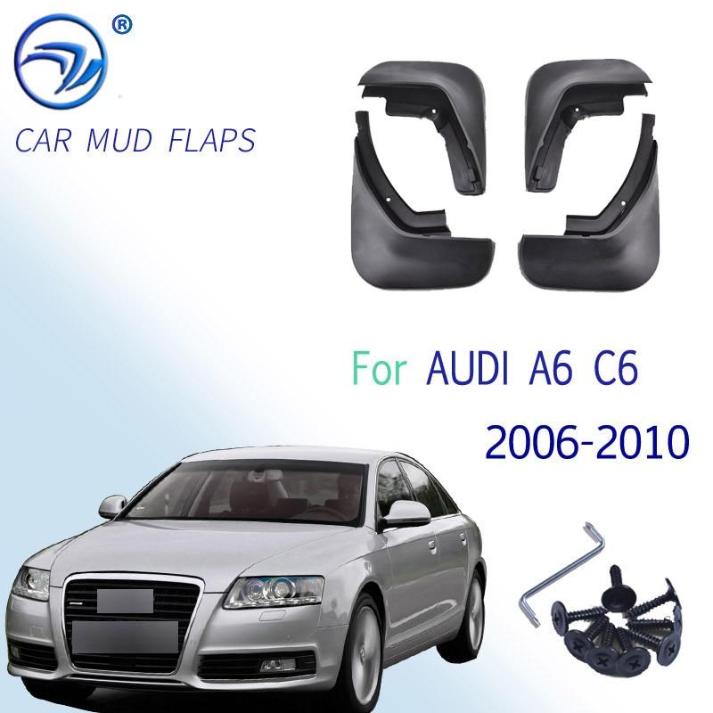 Подходит для AUDI A6 C6 2006 2007 2008 2009 2010 седан брызговик брызговики, аксессуары
