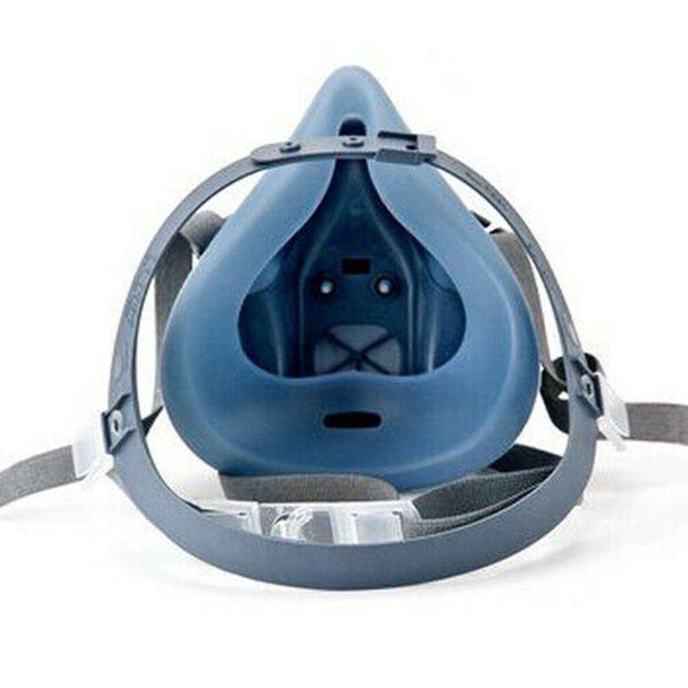 1x 7502 (Medium) Half Facepiece Reusable 7500 Series Dust-proof Anti-fog Protective Industrial Anti PM2.5 Gases Face Cover Mask