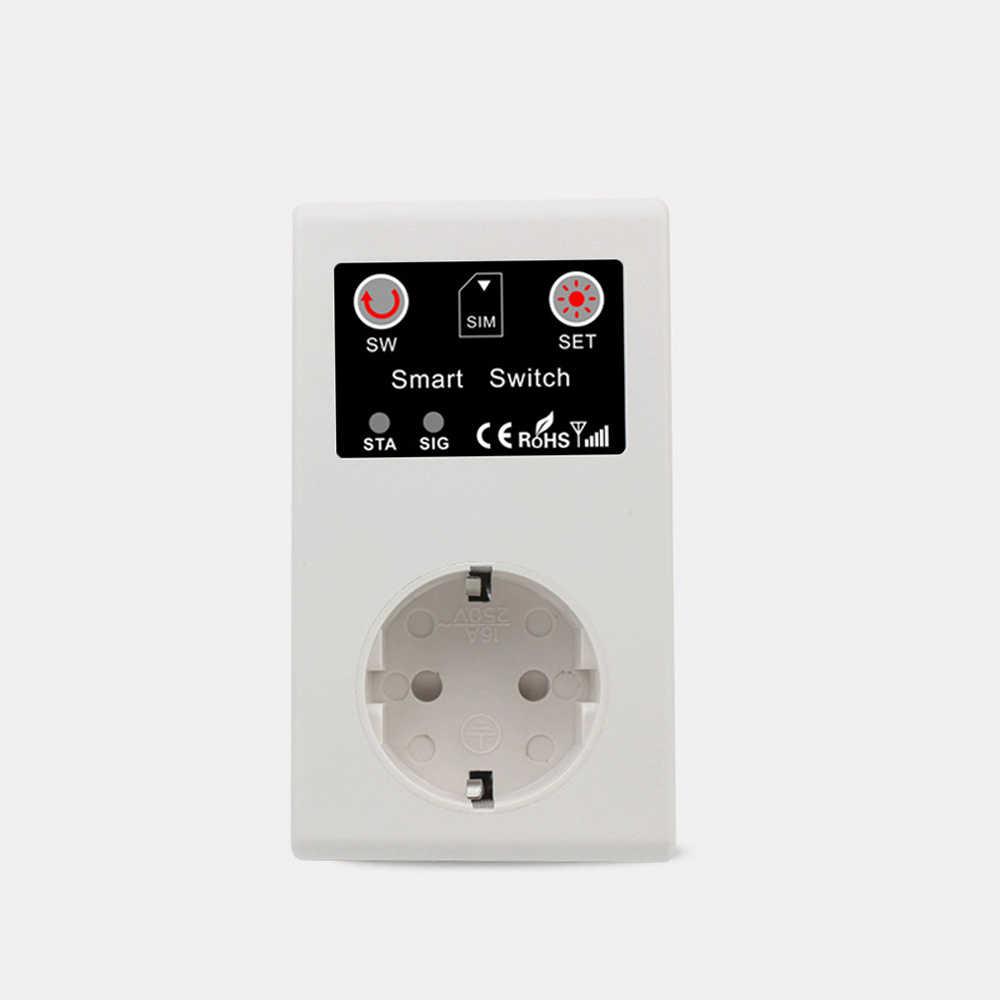 GSM умная розетка вилка вызова SMS приложение дистанционное управление розетка адаптер выключатель питания насос маршрутизатор электрический прибор