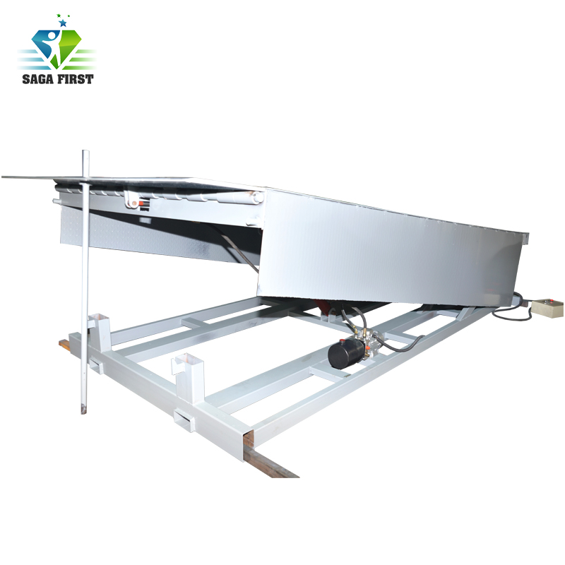 CE Portable Loading Docks Stationary Loading Container Yard Ramp For Sale
