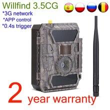 Willfine 3.5CG 3G модель охотничьи камеры IP66 Водонепроницаемые лесные камеры наблюдения с APP пультом управления хорошее качество
