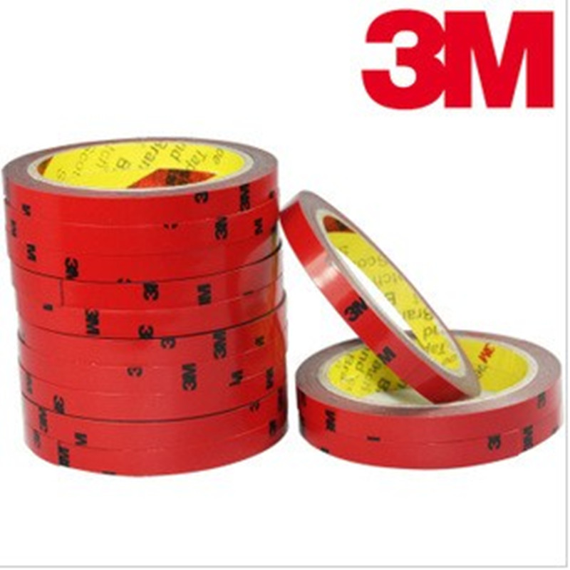 Сверхпрочная Двухсторонняя клейкая акриловая пенопластовая лента 3M VHB 10/15/20 мм