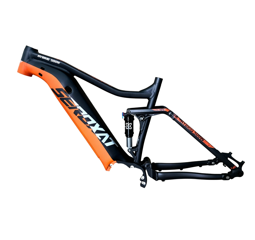 2019 E BIKE 29 motor bike frmae SUV suspension frame aluminium alloy cross country electric frames shock bicycle downhill frame - 2