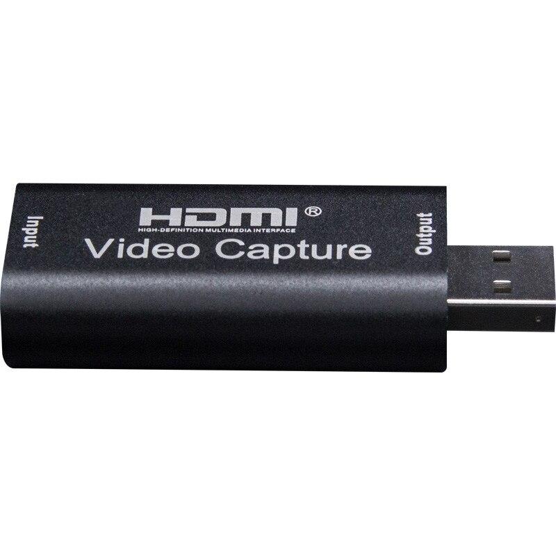 HMDI Video Capture Card USB 3.0 2.0 HDMI Video Grabber Recorder Box fr PS4 Game DVD Camcorder HD Camera Recording Live Streaming 4