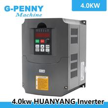 220v 4.0kw VFD Variable Frequency Drive VFD / Inverter 1HP or 3HP Input 3HP Output 380v frequency inverter