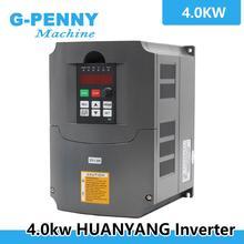 Unidad de frecuencia Variable VFD, 220v, 4,0kw, inversor, 1HP o 3HP, entrada, 3HP, salida, 380v, inversor de frecuencia