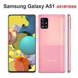2020 оригинальный Samsung Galaxy A51 A515F/DSN мобильный телефон 6 ГБ ОЗУ 128 Гб ПЗУ Восьмиядерный 6,5