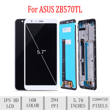 Original For ASUS Zenfone Max Plus M1 ZB570TL X018DC LCD Display Touch Screen Digitizer Assembly For Asus ZB570TL Display with F все цены