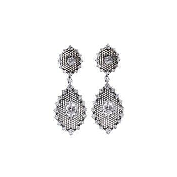Женские серьги пусеты CMajor, Винтажные серьги ручной работы из серебра 925 пробы