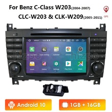 Gps Navigation Car-Radio CLC SWC W203 Android W209 Mercedes-Benz 2004-2007 for C-Class