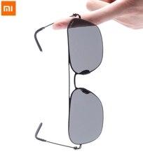 Xiaomi Mijia Anpassung TS Sonnenbrille Nylon PolarizedOne stück design Retro Stil Grau Platz