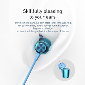 Image 4 - Baseus Wired Earphone Headphone In Ear Earphones Headset With Mic Earbuds Earpiece For iPhone Samsung Auriculares Fone De Ouvido