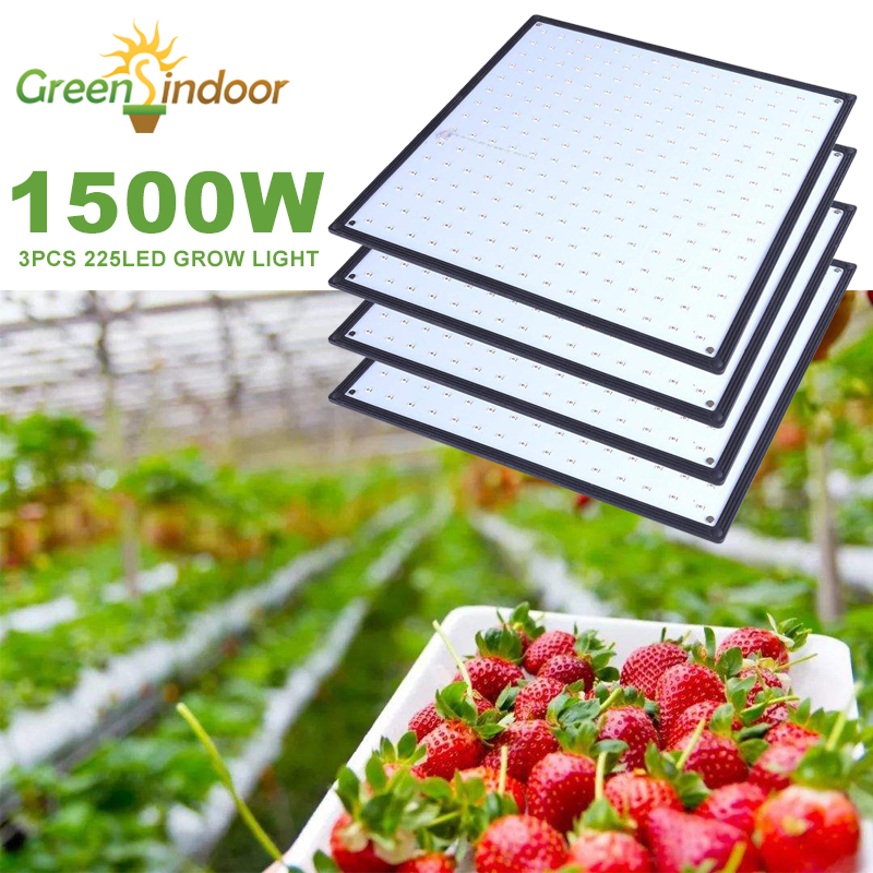 1500W LED Grow Light 1000W Led Grow Lamp For Plants Full Spectrum Fitolampy Fitolamp Indoor Tent Phyto 500W 225Led Flower Seed(China)