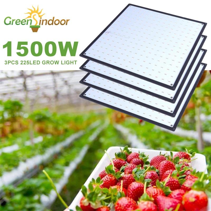 Светодиодсветильник фитолампа полного спектра для выращивания растений, 1500 Вт, 1000 Вт