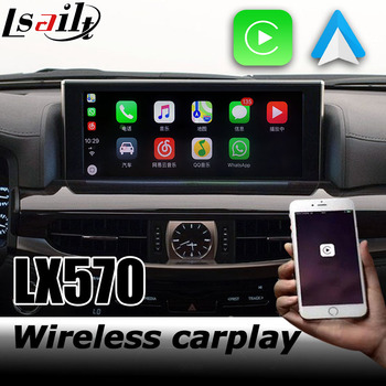 Carplay interface box for Lexus LX 2016-2019 12.3 video interface remote touch control LX570 LX450d by lsailt фото