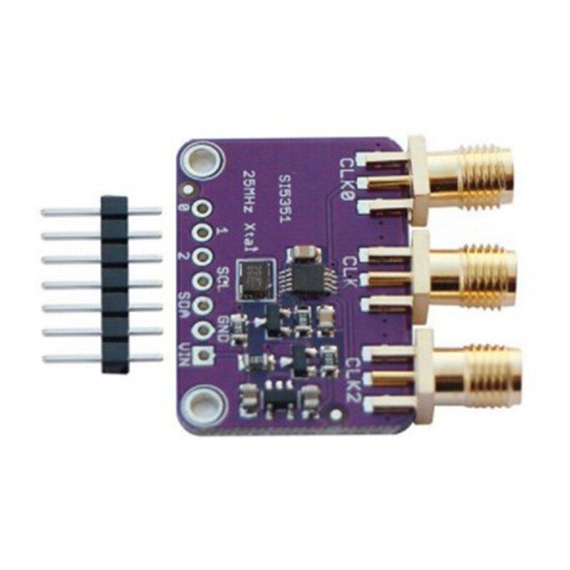 10 шт. DC3V-5V CJMCU-5351 Si5351A Si5351 I2C генератор часов Breakout Board модуль генератор сигналов часы 8 кГц-160 МГц