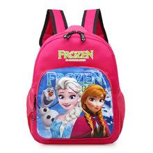 Disney Mickey mouse nowych dzieci torba plecak przedszkolny chłopcy dziewczęta cartoon torba szkolna minnie pojemna torba tanie tanio nylon 30x23x11cm Unisex iecjcl Miękkie i pluszowe 2-4 lat 5-7 lat Pluszowe plecaki
