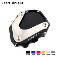 For BMW R1200RT R1200 RT R 1200RT 2004 2013 Motorcycle CNC Kickstand Foot Side Stand Extension Pad Support Plate Enlarge Stand|Stands| |  -