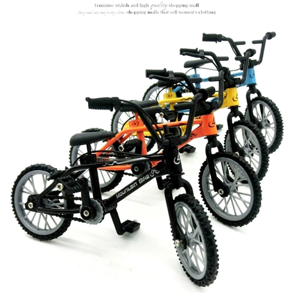 1pcs Mini-finger-bmx Set Bike Fans Toy Alloy Finger BMX Functional Kids Bicycle Finger Bike Excellent Quality Bmx Toys Gift