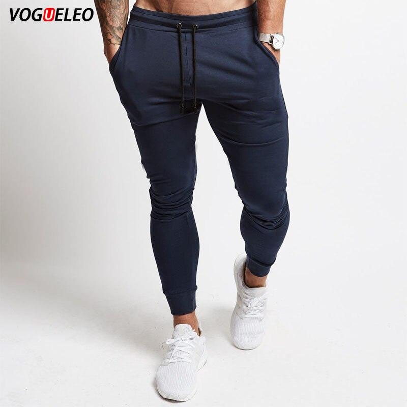 VOGUELEO 2019 Pants Men Joggers Sweatpants Trousers Pantalon Homme Jogger Streetwear Pant New Straight Man Fitness Clothing 5XL