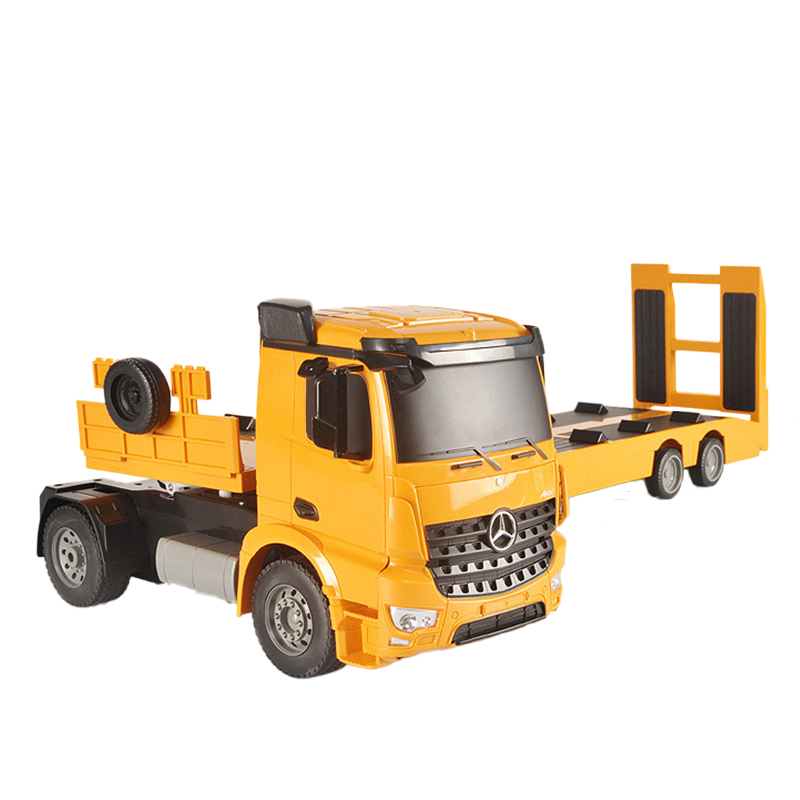 Double E Radio Controlled Machine Flatbed Truck Construction Toys image