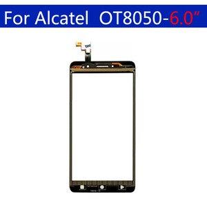 Image 3 - 10Pcs\lot Touchscreen For Alcatel One Touch Pixi 4 OT 8050D 8050  OT8050 Touch Screen Panel Sensor Digitizer Glass Replacement