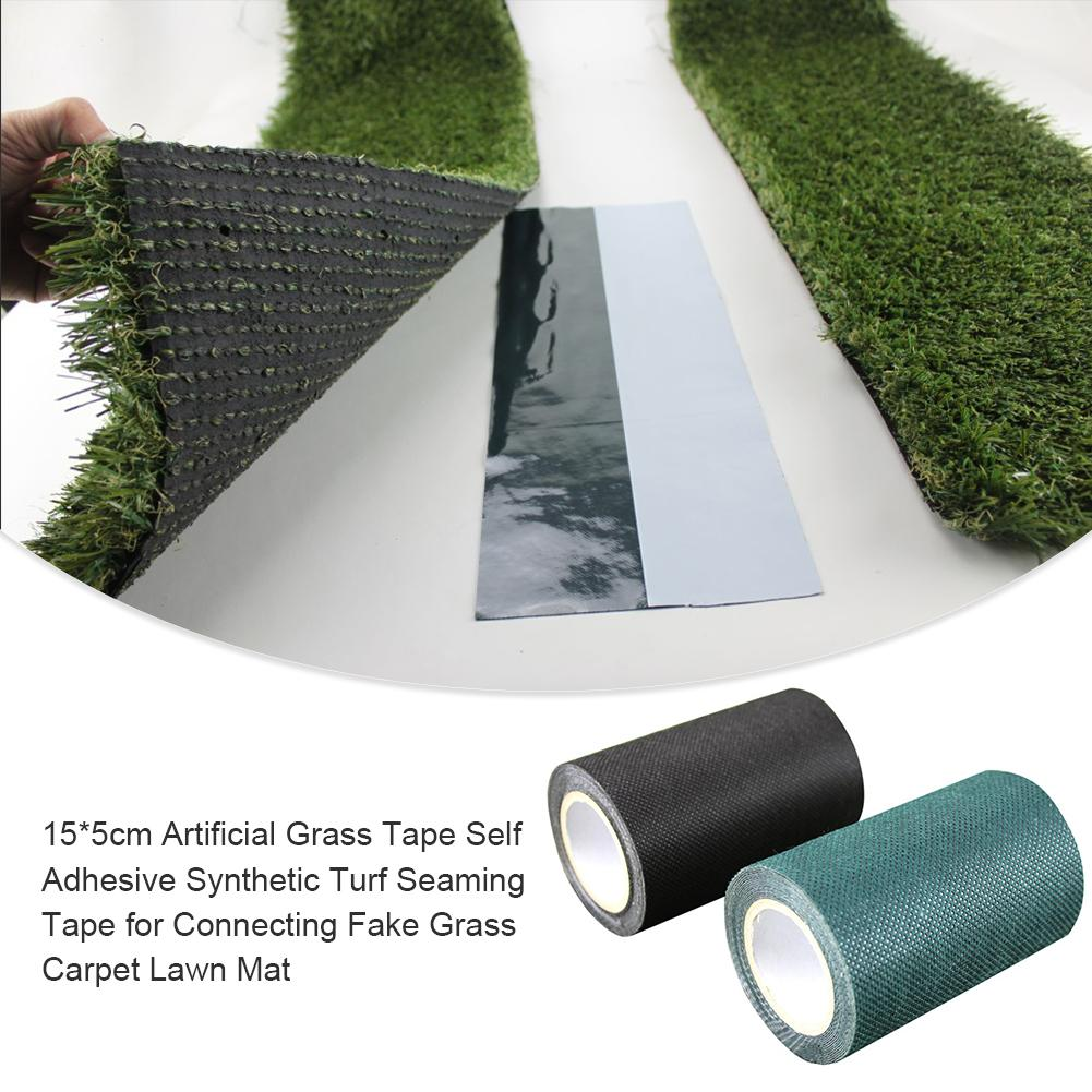 15*500cm Garden Self Adhesive Joining Green Tape Synthetic Lawn Grass Artificial Turf Seaming Decoration Grass Jointing Garden #