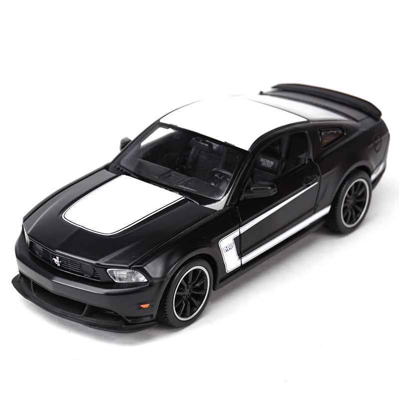 Maisto <font><b>1:24</b></font> <font><b>Ford</b></font> <font><b>Mustang</b></font> Boss 302 Sports Car Static Simulation Diecast Alloy Model Car image