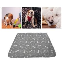 Alfombrilla de perro reutilizable a prueba de agua alfombrillas de cama para perros almohadilla de orina para perros viaje de entrenamiento para mascotas almohadillas de orina para cachorros almohadilla de absorción rápida alfombra