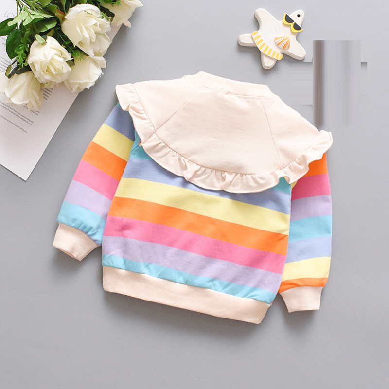 Spring fall Baby Girl Clothes Outfits Sweater Jacket for Newborn Baby Girls clothing sweatshirt Christmas Birthday hoodies coats 2